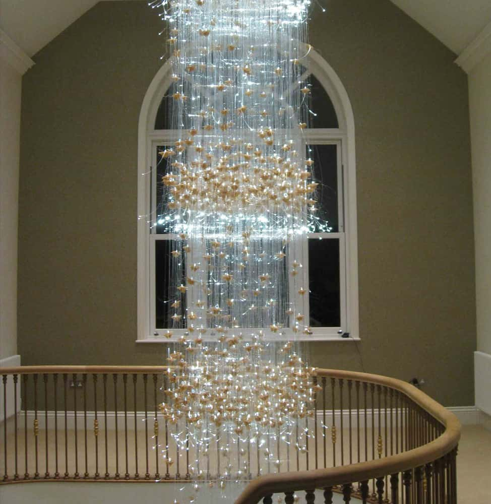 Designer Fiber Optic Lighting by Sharon Marsten is Beyond Stunning