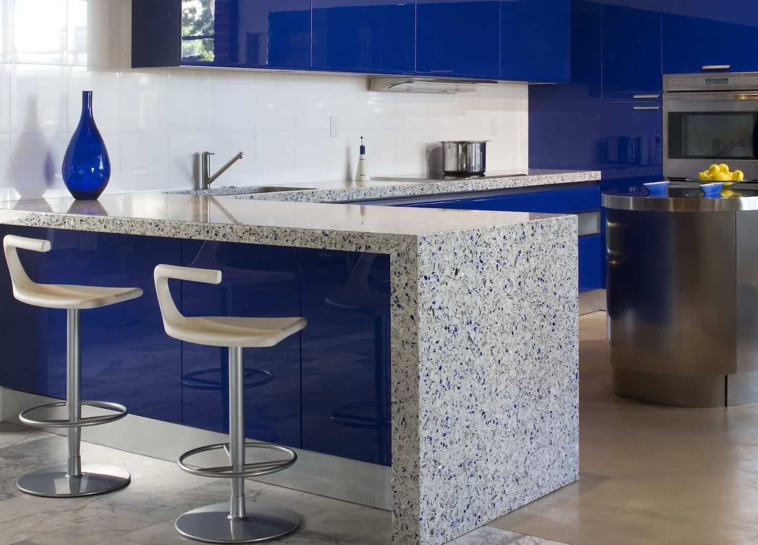 Modern Tile Kitchen Countertops. Modern Italian Tile On Kitchen ...