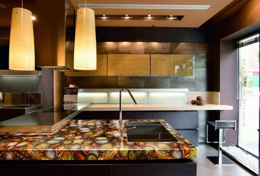 modern kitchen countertops from unusual materials 30 ideas. Black Bedroom Furniture Sets. Home Design Ideas
