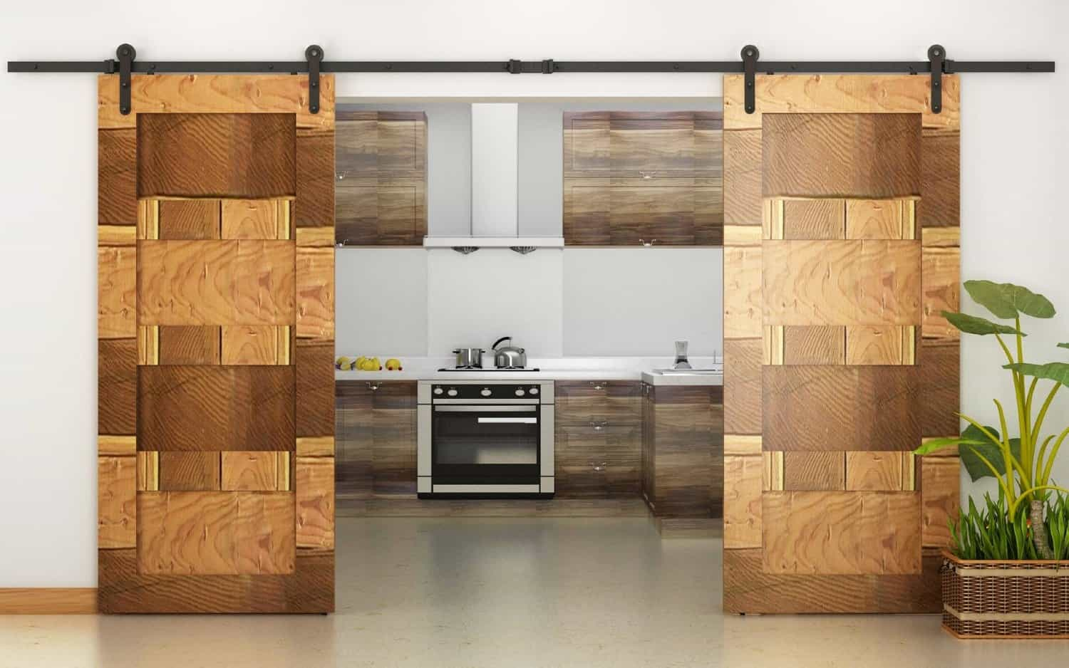 Delicieux View In Gallery Sliding Barn Doors ...