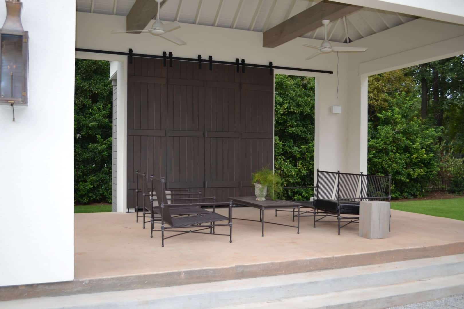Architectural accents sliding barn doors for the home for Exterior sliding doors