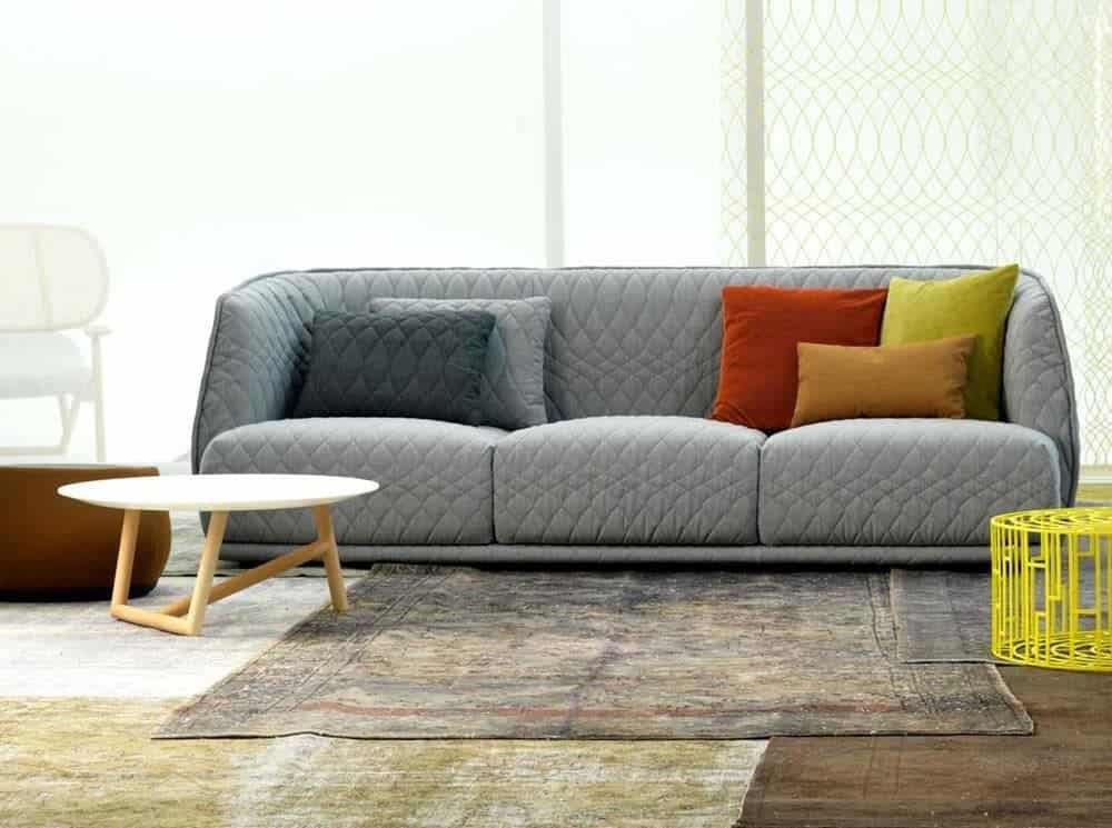 40 elegant modern sofas for cool living rooms for Cool living room furniture