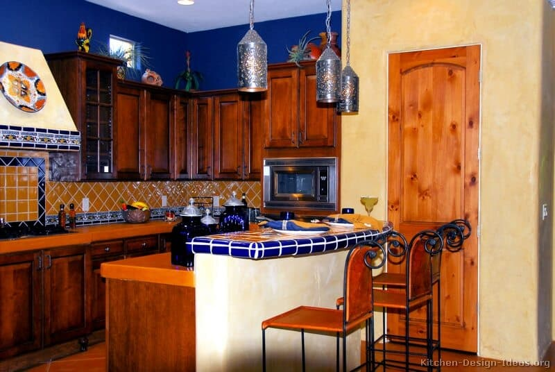 Rustic Mexican Kitchen Design Ideas ~ Top talavera tile design ideas