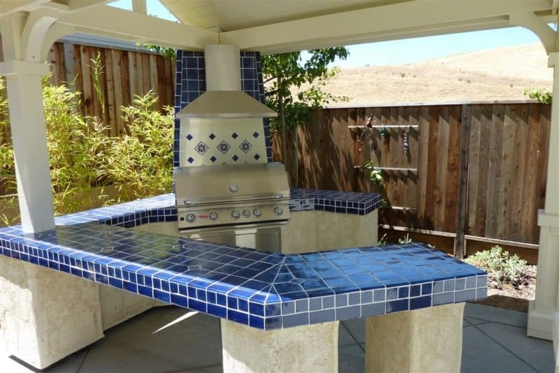 How To Tile Outdoor Kitchen