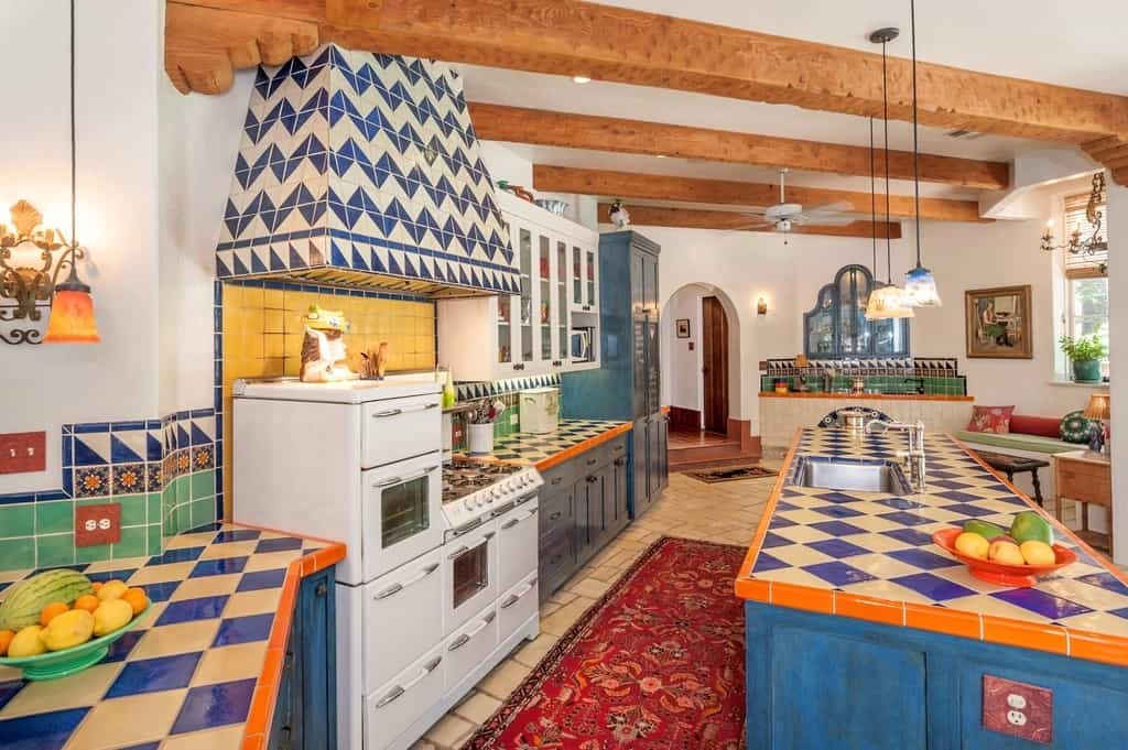Mexican Kitchen Countertops