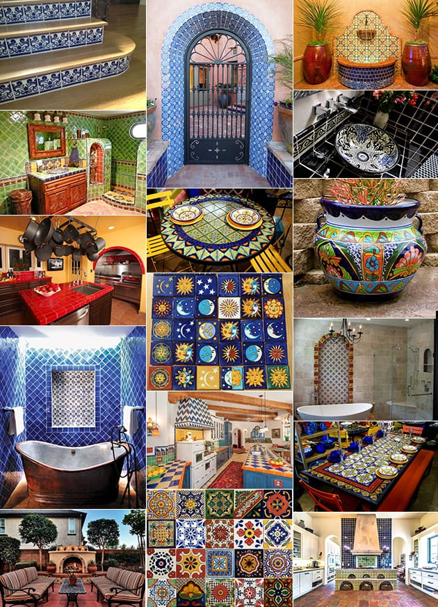 talavera tile design ideas 44 Top Talavera Tile Design Ideas