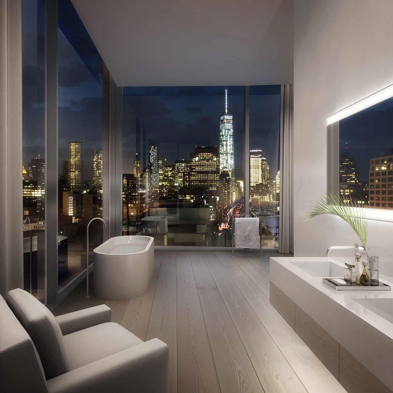 Superbe View In Gallery 432 Park Ave Modern Bathroom View 33