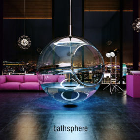Have You Ever Had a Bath in a Glass Bubble? Meet Bathsphere