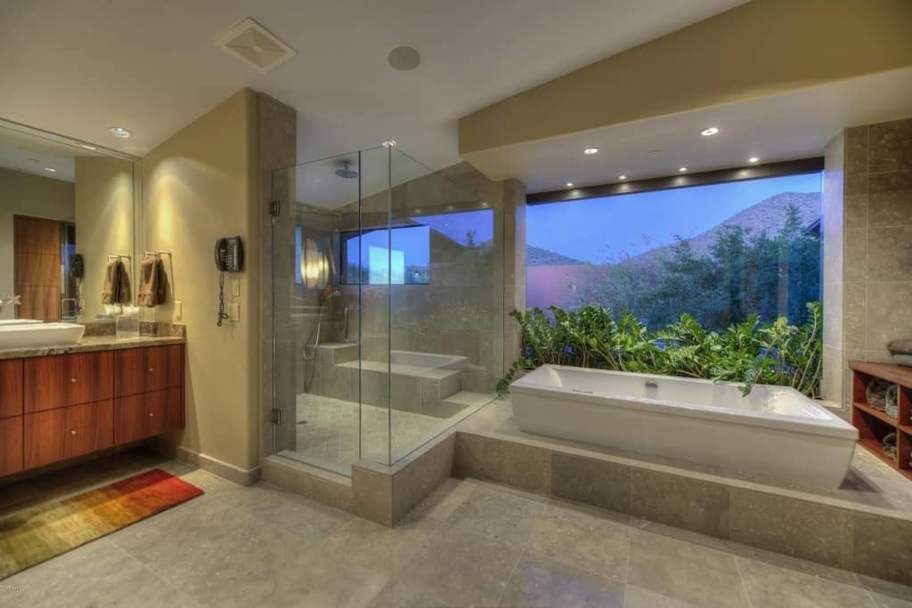 Bon View In Gallery Great Luxury Bathroom Scottsdale 14