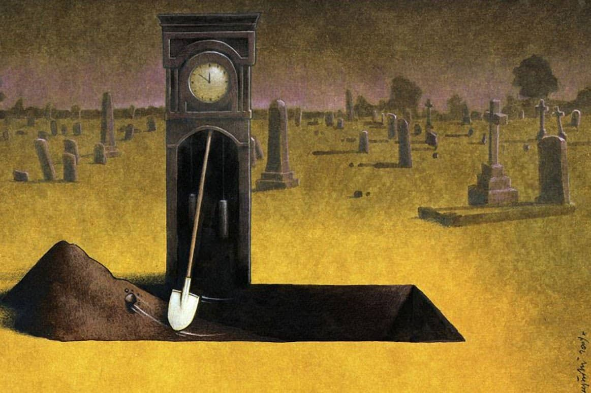Cartoonist Pawel Kuczynski Takes On Facebook With His Thought