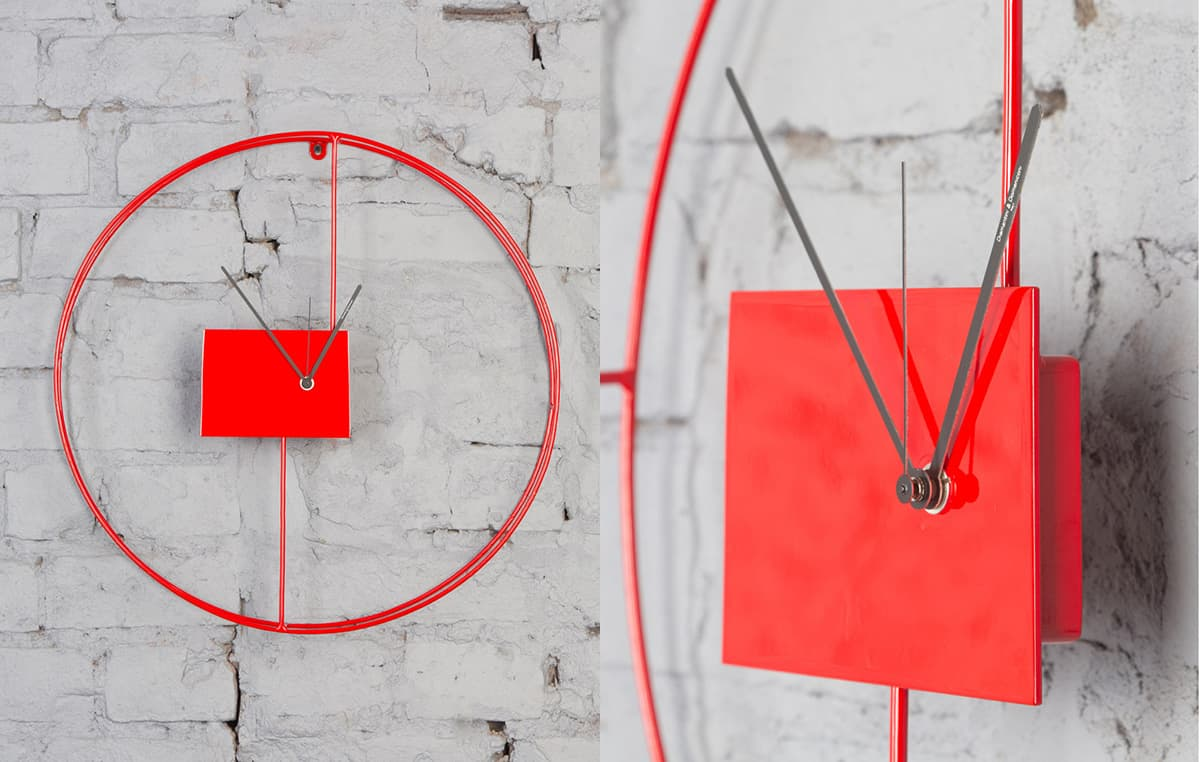 3 Amazing Modern Wall Clocks by Diamantini and Domeniconi