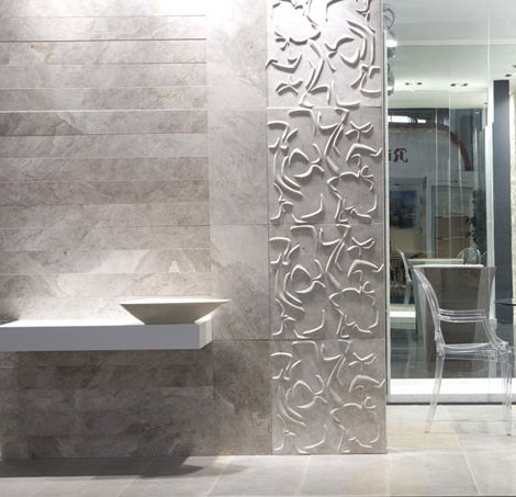 3d wall tiles lithea curve 3 3D Wall Tiles by Lithea