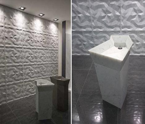 3d wall tiles lithea dune 3