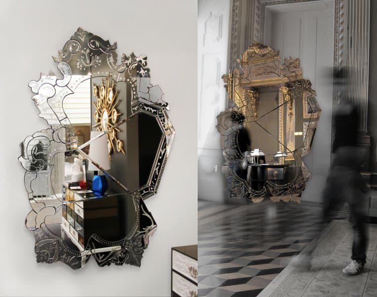 84″ High Art Mirror from Boca Do Lobo: Venice