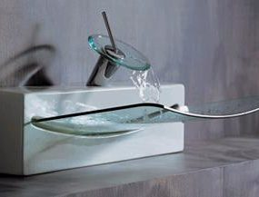 Crystall Wall Top sink from ArtCeram
