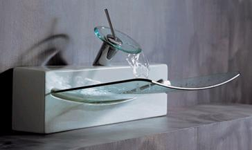 ArtCeram CrystalWallTop sink Crystall Wall Top sink from ArtCeram