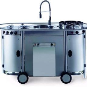 Bongos portable kitchen from Emme Group – a professional mobile kitchen