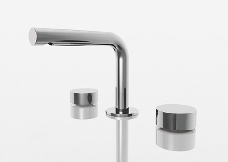 aboutwater naoto fukasawa bath faucet Sleek Contemporary Plumbing by Naoto Fukasawa