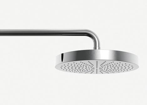 aboutwater naoto fukasawa rain shower Sleek Contemporary Plumbing by Naoto Fukasawa