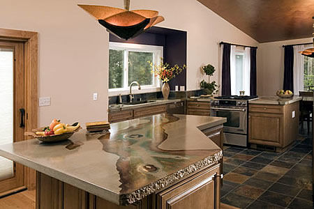 absolute concrete works concrete island Concrete Countertop by Absolute ConcreteWorks   the absolutely amazing countertops