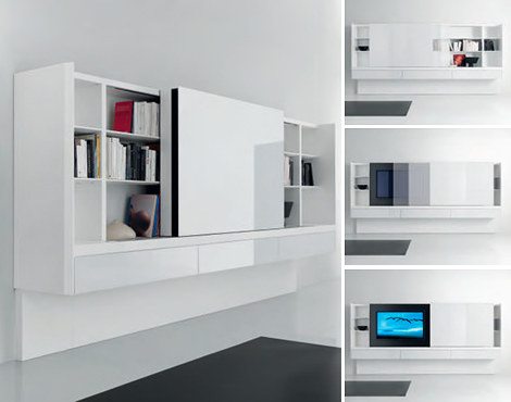 acerbis book shelves newind 4