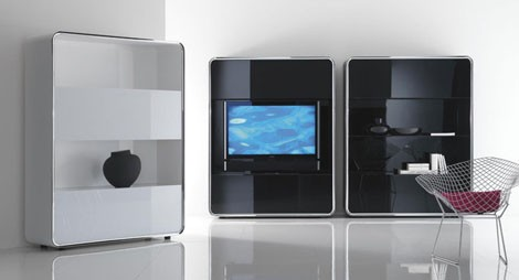 acerbis cabinet audio video lyneus 2 Contemporary Sideboards Furniture from Acerbis   new Lyneus