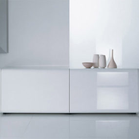 Contemporary Sideboard by Acerbis – Superego sideboard with slow-motion effect