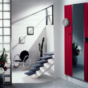 Decorative Mirror Radiators – Double Fassane Mirror Radiator by Acova