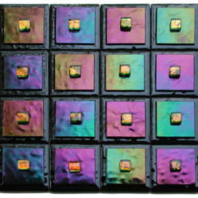 Contemporary accent tiles from Adagio Art Glass – new for 2007