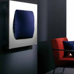Steel Radiator with removable cushion from ADhoc – the Makura radiator