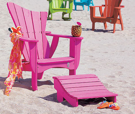 adirondack wave chair Adirondack Outdoor Furniture   the Wave outdoor collection