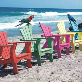 Adirondack Outdoor Furniture – the Wave outdoor collection