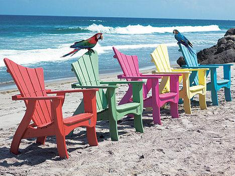 adirondack wave chairs