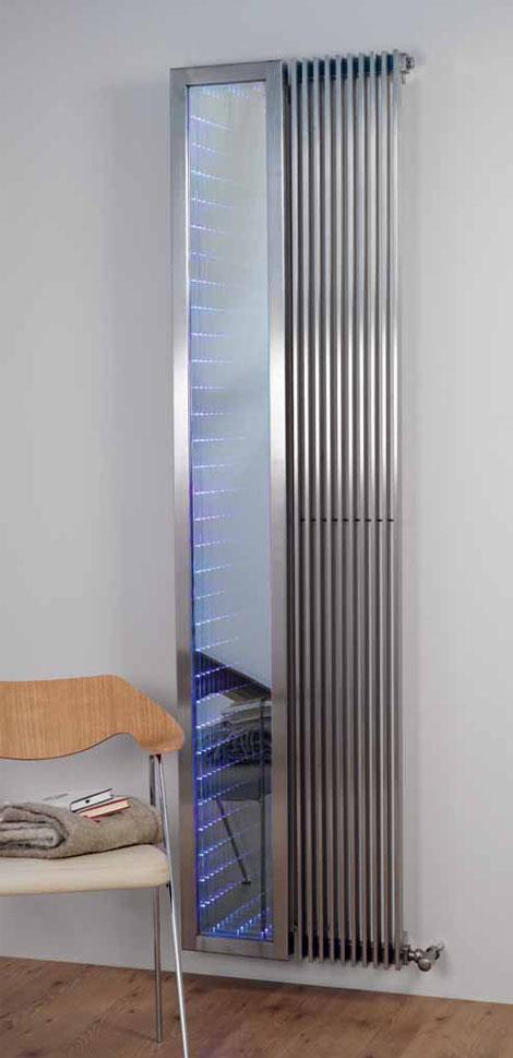 aeon venetian infinity mirror radiator Modern Radiator by Aeon   new Venetian Infinity mirror radiator