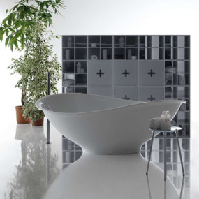 Aesthetic Bath – contemporary, minimalist Meg11 by Galassia