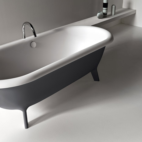agape old fashioned bathtubs 2 Old Fashioned Bathtubs in Modern Material, by Agape