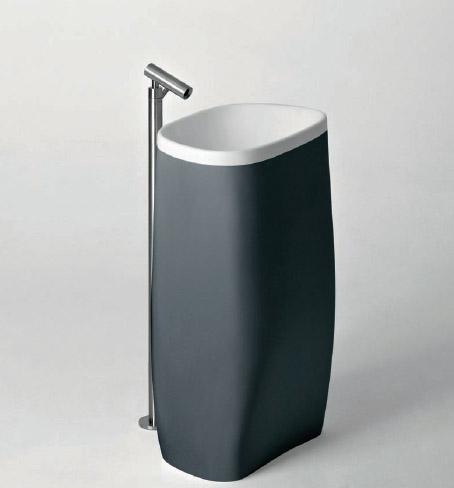 agape pear bathroom collection Modern Bathroom Fixtures from Agape   new Pear bathroom collection