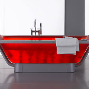 Luxury Air Tub from Albatros – the Rossovivo Air Tub