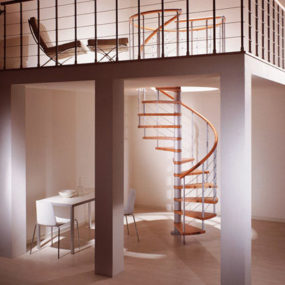 Modern Spiral Stairs from Albini & Fontanot