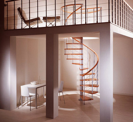 Modern Spiral Stairs From Albini U0026 Fontanot