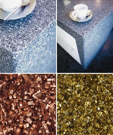 alkemi recycled countertops renewed materials Alkemi Recycled Countertops from Renewed Materials   green and beautiful