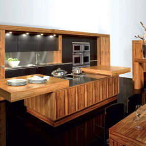 Contemporary Kitchen from Allmilmo – Tineo Art of Living kitchen