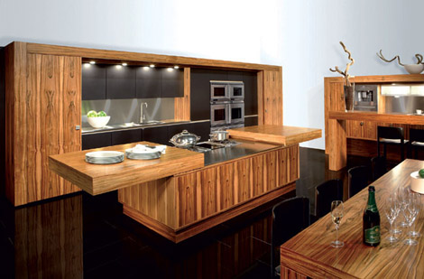allmilmo kitchen tineo open Contemporary Kitchen from Allmilmo   Tineo Art of Living kitchen