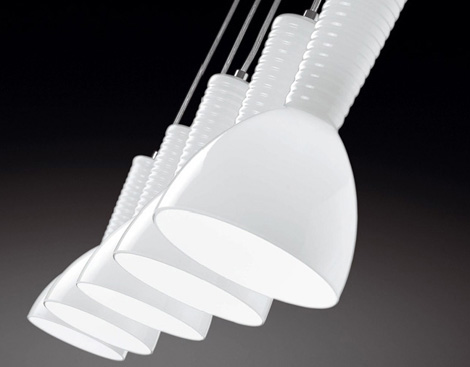 Almalight lamp Kone in white
