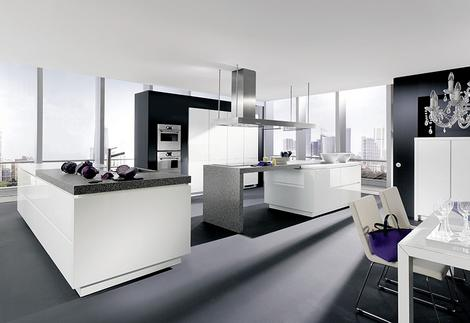 alnostar highline kitchen thumb Handleless Kitchen from Alno   new Starline kitchens