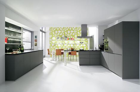 alnostar smartline kitchen thumb Handleless Kitchen from Alno   new Starline kitchens