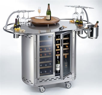 Mobile Wine Bar and Cocktail Bar from Alpina Grills