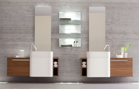 Altamarea Unusual Wall Hung Bathroom Vanities With Sink