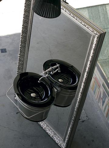 altamarea vanity secjo 2 Altamarea Secjo Vanity mounted onto a large mirror