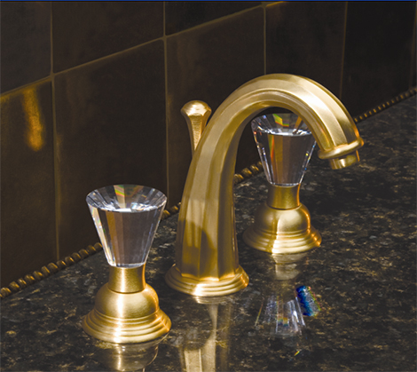 Altmans Caribe Satin Gold Bathroom Faucet New Luxury And Nuva Faucets